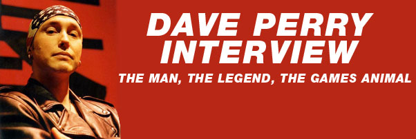 Dave Perry Interview &#8211; GamesMaster
