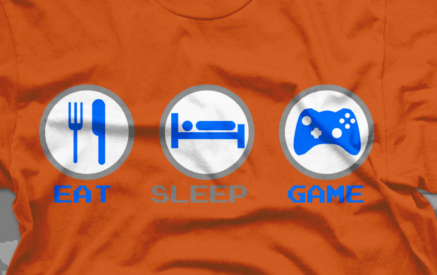 Eat Sleep Game T-Shirt – Best Seller