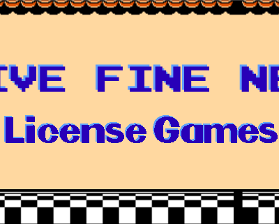Five Fine NES License Games