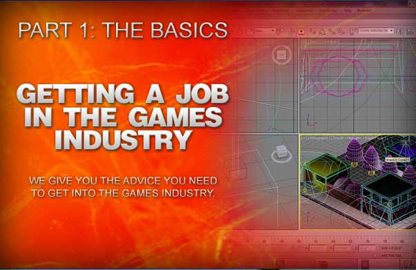 Getting a job in the games industry