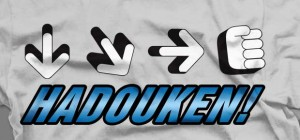 hadouken video game shirt