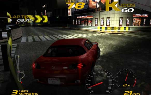 retro review  project gotham racing