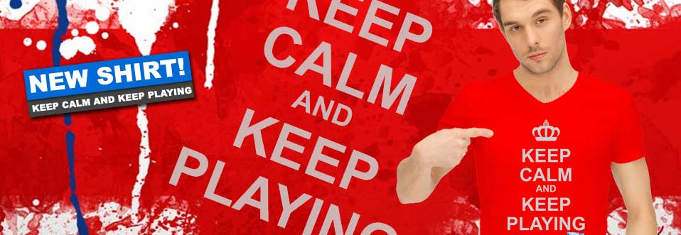 Keep Calm And Keep Playing Video Game Tees
