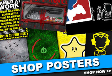 video-game-geek-posters