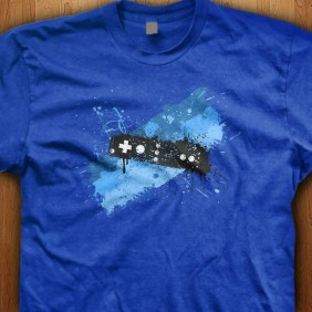 Blue-Graffiti-Controller-Blue-Shirt