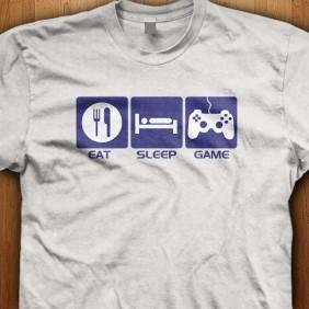 Eat-Sleep-Game-White-Shirt