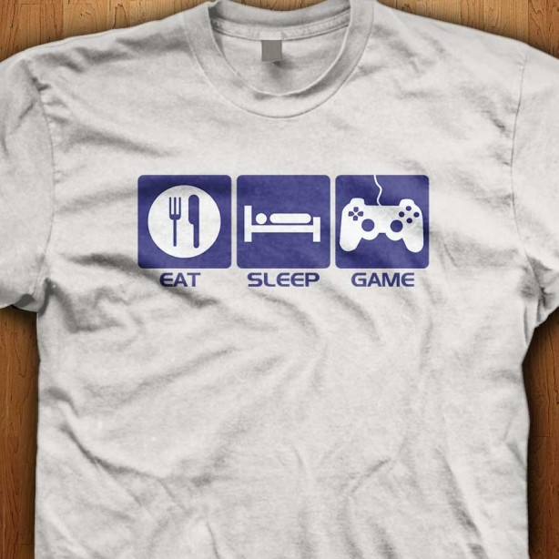 Eat-Sleep-Game-White-Shirt