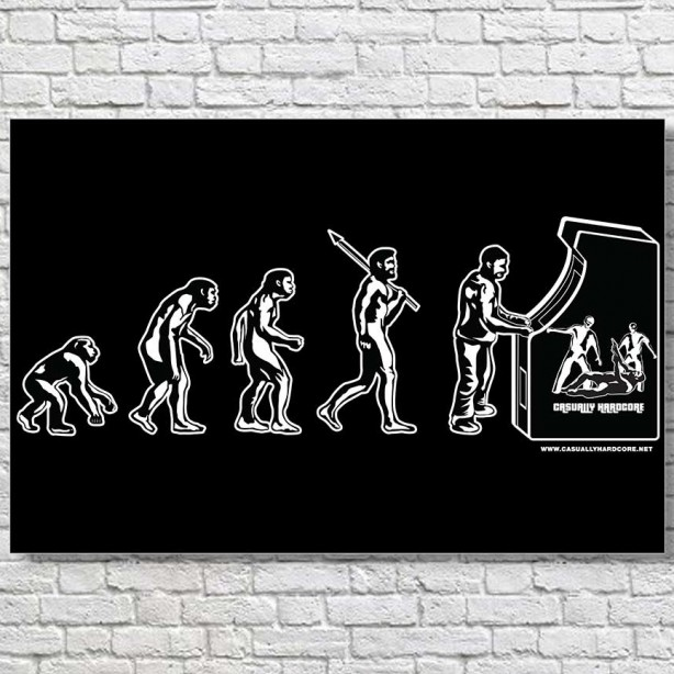 Gamer-Evolution-Large-Poster