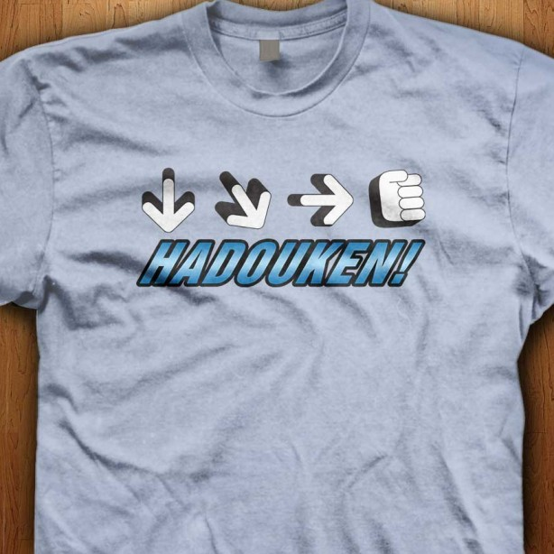 Hadouken-Light-Blue-Shirt