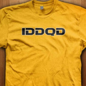 IDDQD-Yellow-Shirt
