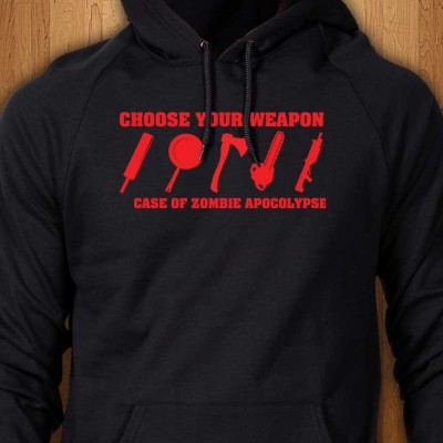In-Case-Of-Zombie-Apocalypse-Black-Hoodie