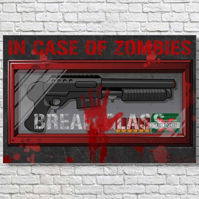 In-Case-Of-Zombies-Large-Poster