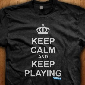 Keep-Calm-And-Keep-Playing-Black-Shirt
