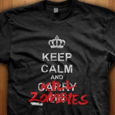 Keep-Calm-And-Kill-Zombies-Black-Shirt