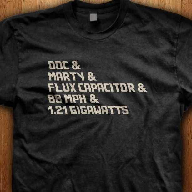 Official-Back-To-The-Future-doc-marty-flux-gigawatts-Black-Shirt