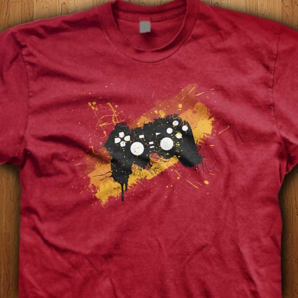Red-Graffiti-Controller-Red-Shirt
