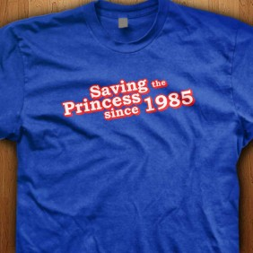 Saving-The-Princess-Since-1985-Blue-Shirt