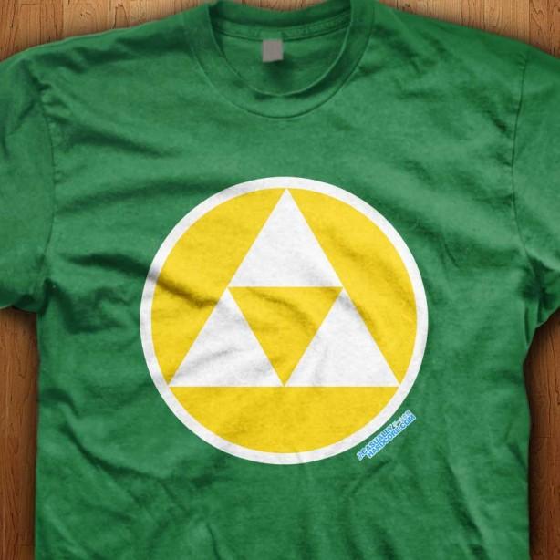 Triforce-Green-Shirt