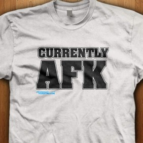 Currently-AFK-White Shirt