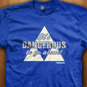 Its-Dangerous-To-Go-Alone-Blue-Shirt