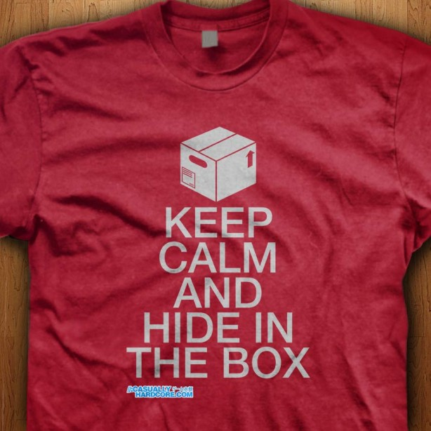 Keep-Calm-And-Hide-In-The-Box-Red-Shirt