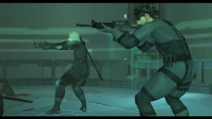 Metal Gear Solid 2 Raiden