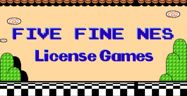 Five Fine NES License Games