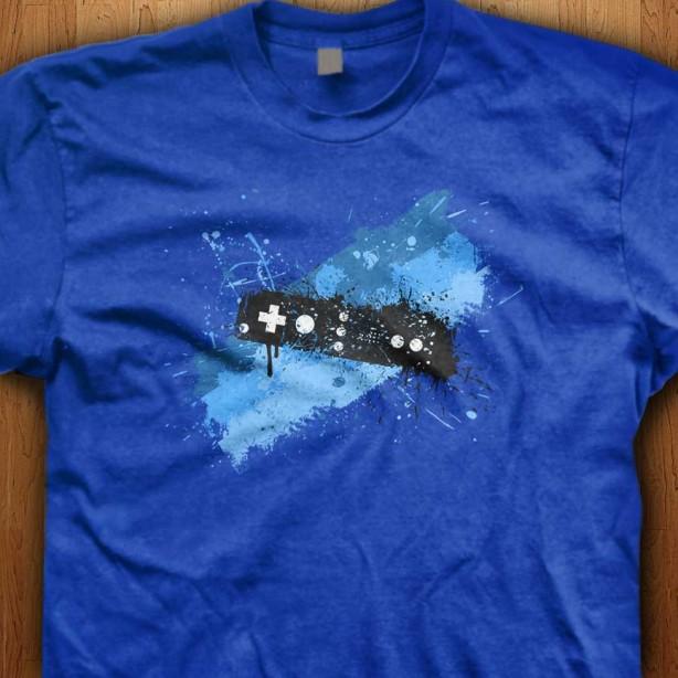 Blue-Graffiti-Controller-Blue-Shirt
