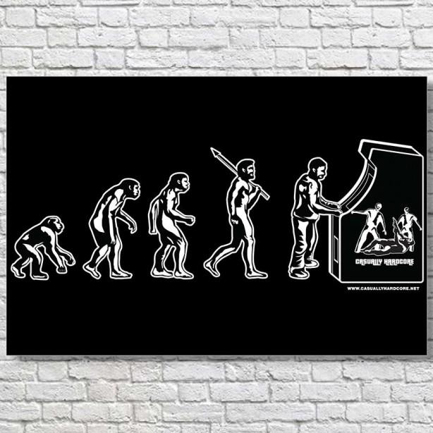 Gamer-Evolution-Large-Poster