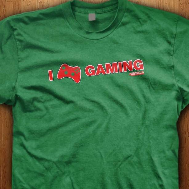 I-Love-Gaming-Green-Shirt