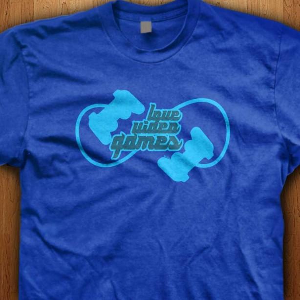Love-Video-Games-Blue-Shirt
