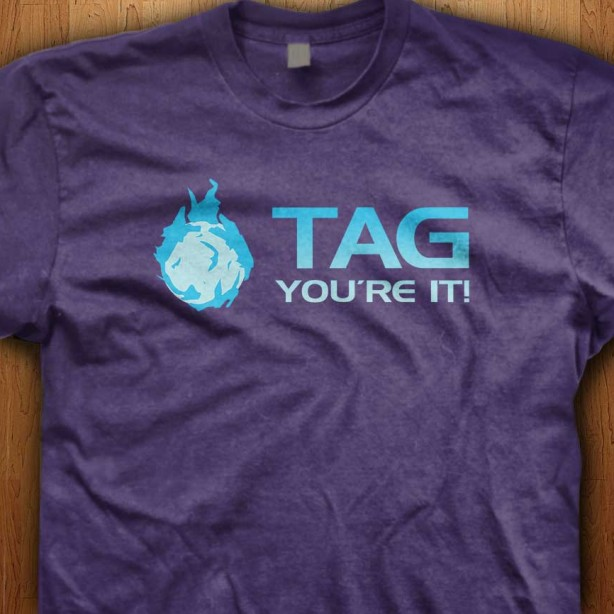 Tag-Youre-It-Sticky-Grenage-Purple-Shirt